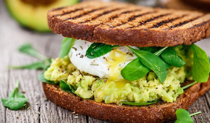 Use avocado instead of butter and cheese in homemade sandwiches and burgers