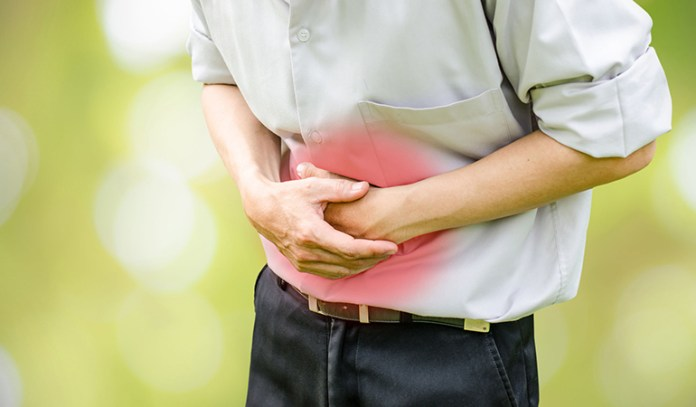 Stomach cramps indicate intestinal parasitic infections.