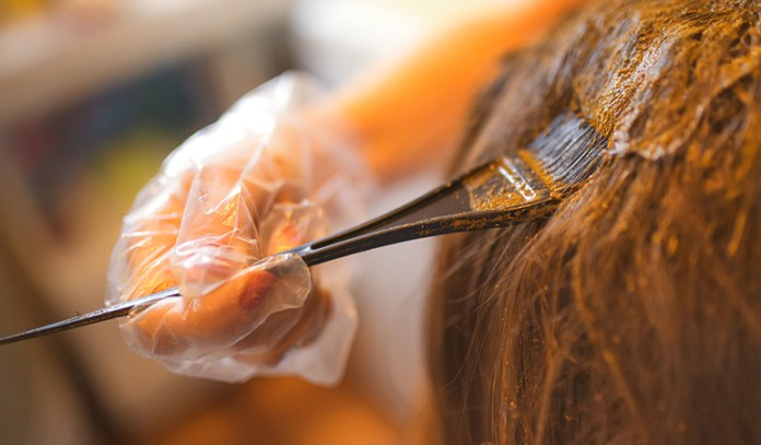 Applying henna is a simple treatment that you can do at home