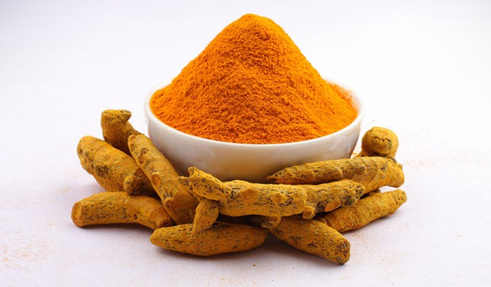 Curcumin in turmeric has been shown to inhibit blood platelet-clotting
