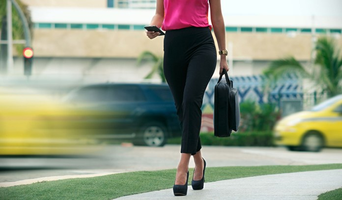 Walk to work to stay active even with a desk job
