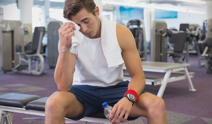 Not breathing properly while exercising can cause blood pressure spikes and even loss of consciousness.