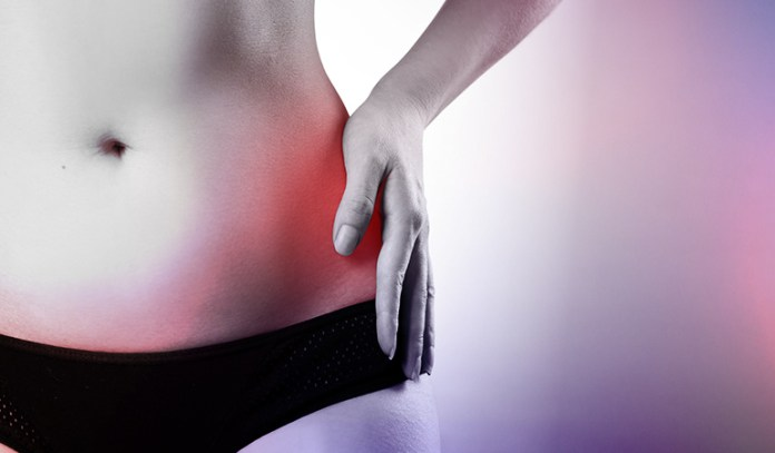 Cramping pain in the left side of the abdomen is a symptom of distal ulcerative colitis