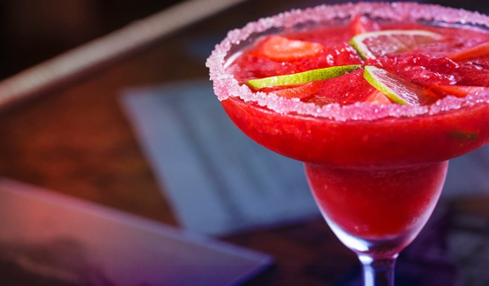 Frozen cocktails contain alcohol which is absorbed into the bloodstream