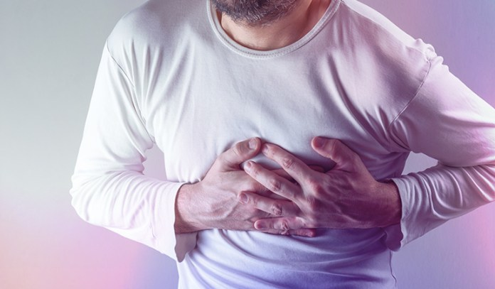 Discomfort in the chest is a sign of food allergies