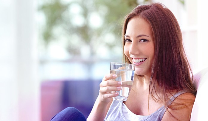 Drink 8 glasses of water every day.