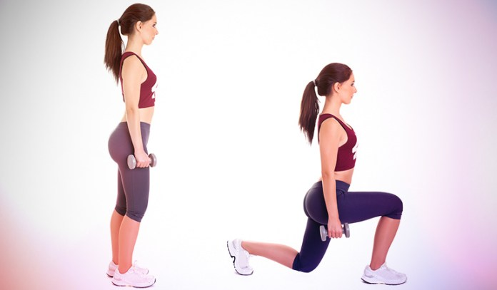 This exercise engages the hamstrings.