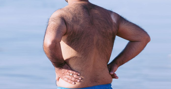 Ways to get rid of back hair.