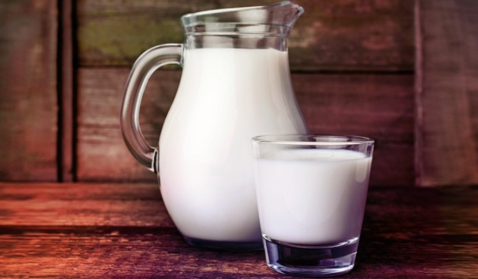milk provides from 115 to 124 IUs in one 8 ounce glass