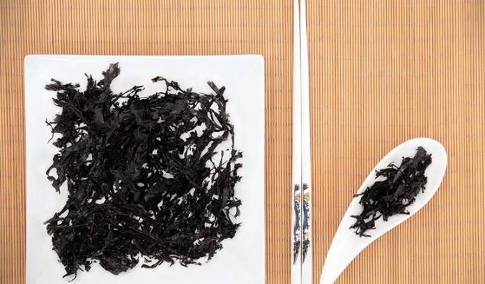 Arame seaweed is commonly used in Japanese cuisine