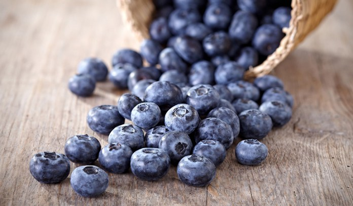 Blueberries contain flavonoids that can improve moods