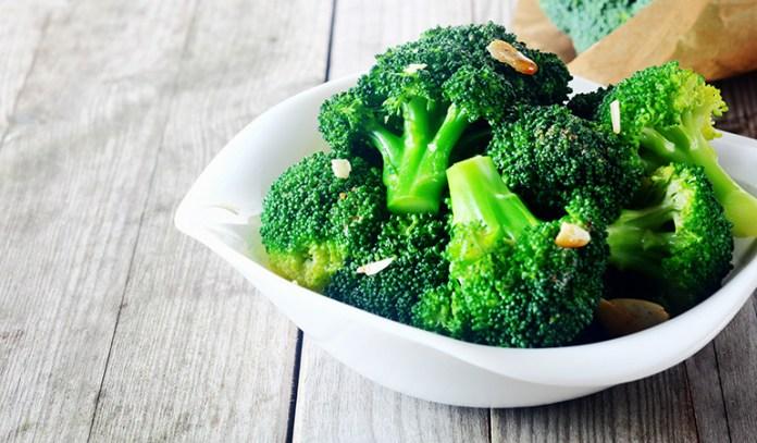 Broccoli improves gut health.