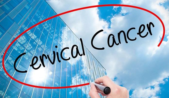 Cervical cancer causes irregular bleeding.