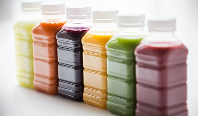 Bottled juices are full of fructose corn syrup and artificial ingredients