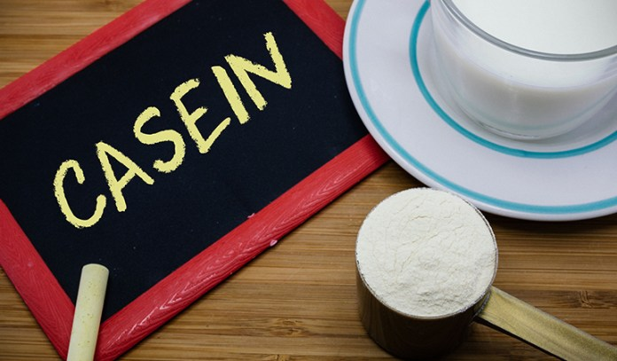 the digestion of casein is much slower than whey