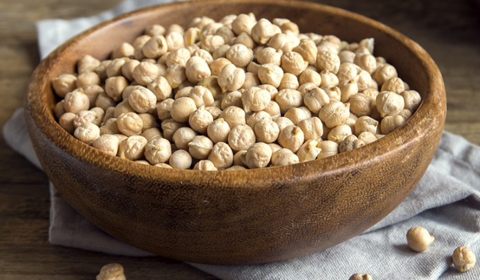 Chickpeas increase satiety.