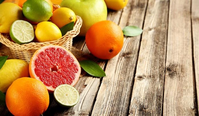 Citrus has antioxidant properties