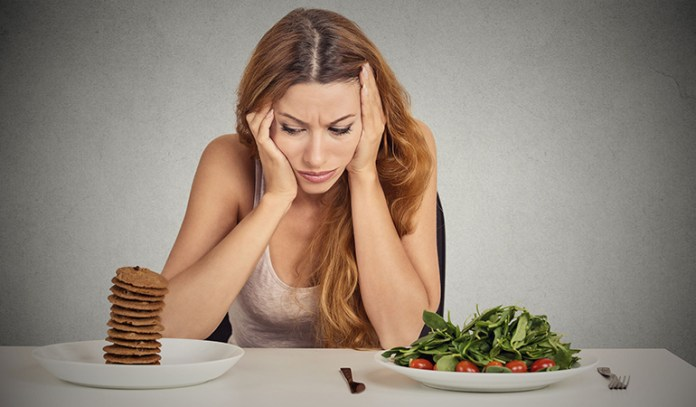 Stress caused due to dieting can lead to weight gain