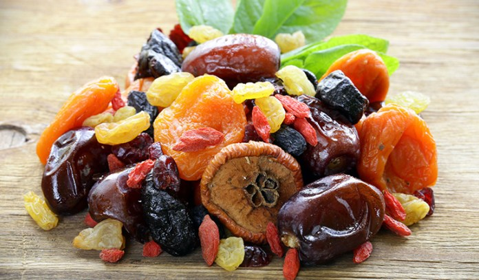 Too many dried fruits can increase your sugar intake.