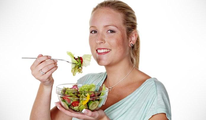 Healthy diet relieves stress.