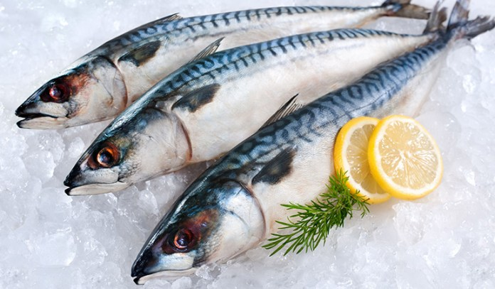 Fish like salmon is rich in omega-3 fatty acids that can brighten moods