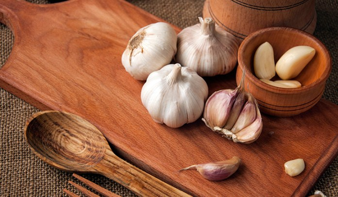 Allicin in garlic neutralizes harmful free radicals that are released upon radiation exposure.