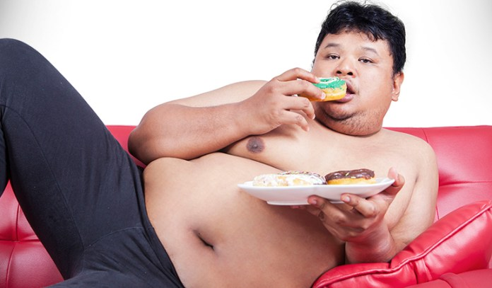 Stress caused due to inflammation can lead to weight gain