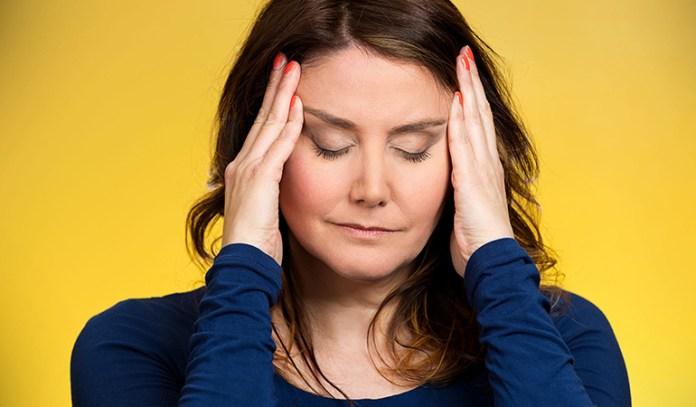 Stress causes psoriasis symptoms.