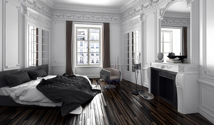 Mirrors facing the bed can affect your sleep quality