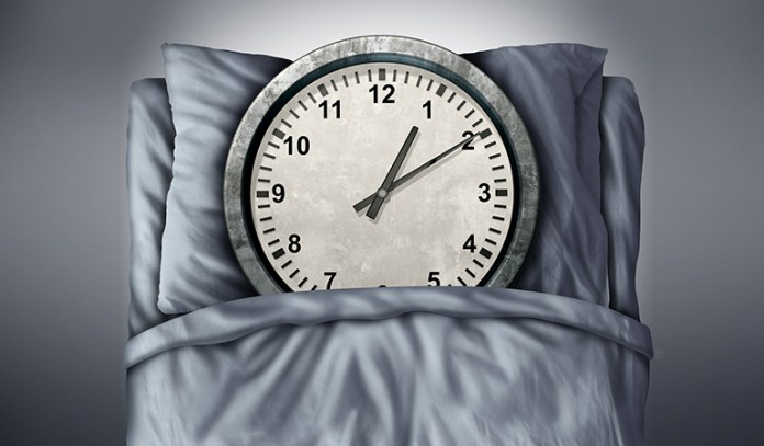 Regular sleep hours can help you sleep better