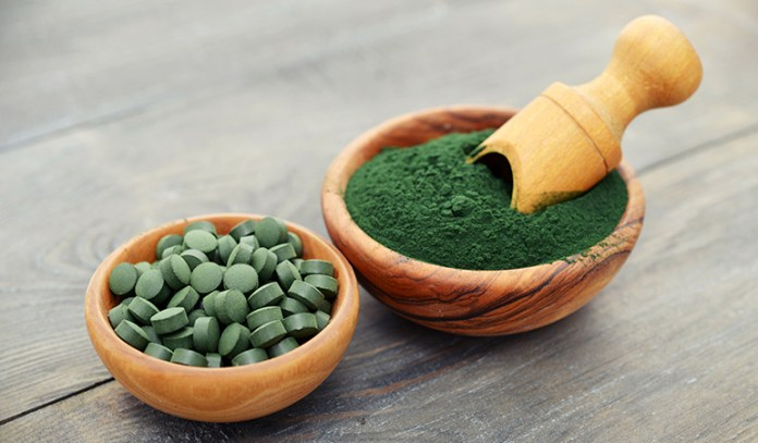 The phycocyanin in spirulina help absorb and eliminate dangerous radioisotopes.