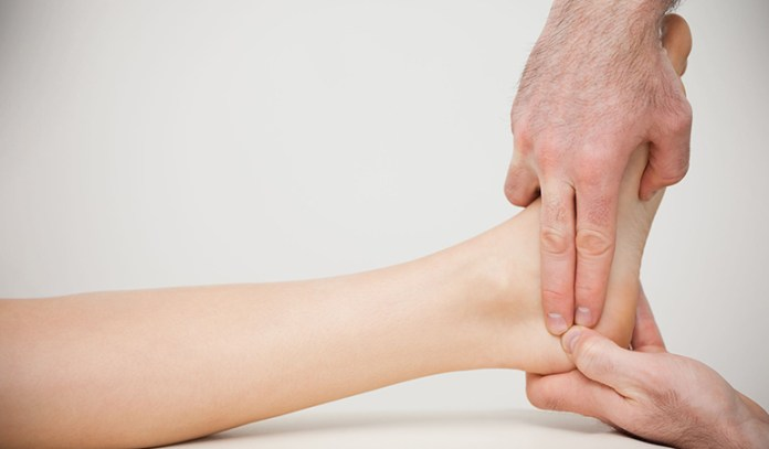 Fluid retention causes swellings especially in the ankles and feet