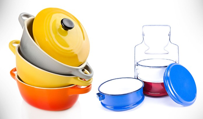 Minimize plastic exposure by using ceramic or glass containers