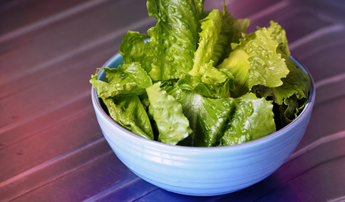 Roman lettuce contains 64 mcg of folate.