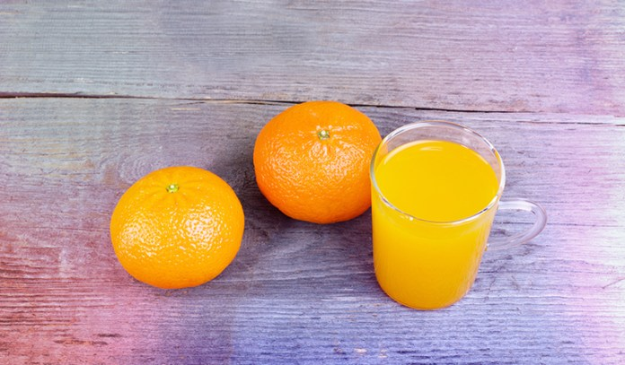 Orange is an excellent source of folate.