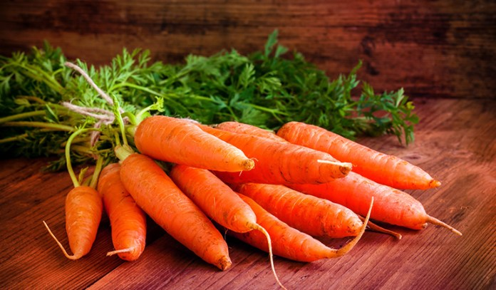 Carrots have 5302.5 mcg of beta-carotene per half cup.