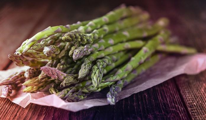 Asparagus is a good source of folate.