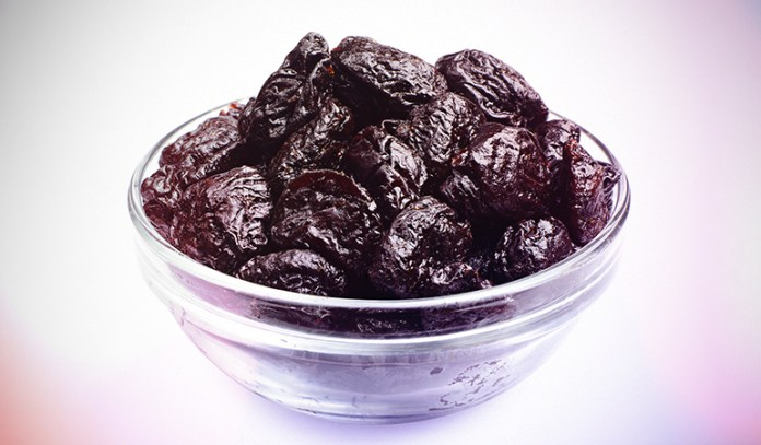 Prunes are rich in iron