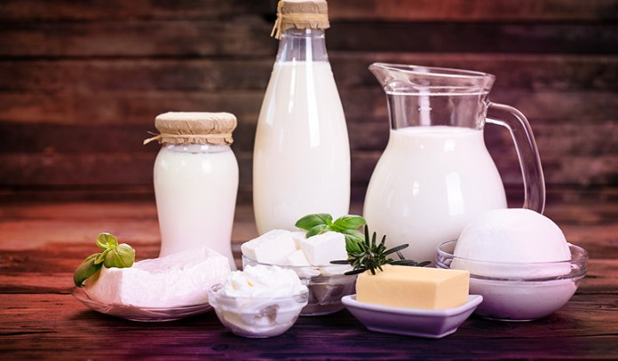 Dairy products are a good source of vitamin A.