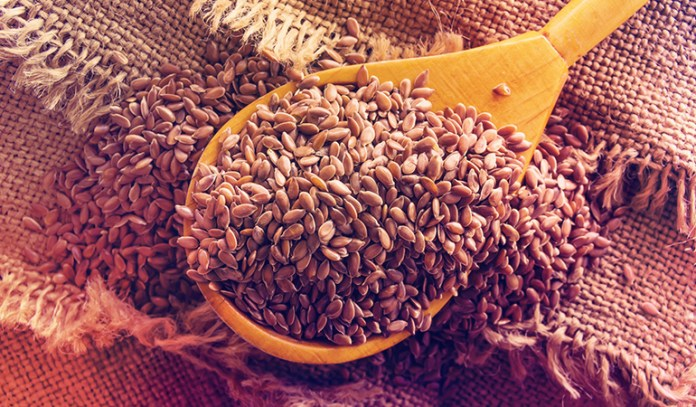 A tablespoon of the flaxseeds, whole, contain 2.35 gm of ALA