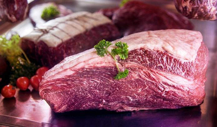Beef has iron