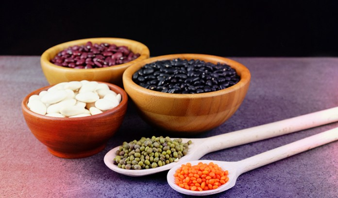 Beans and lentils are a good source of omega 3 fatty acids.