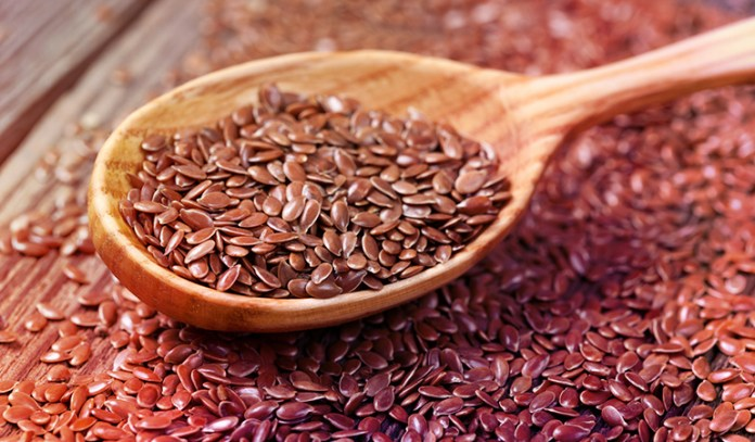 A tablespoon of flaxseeds has 2.35 gm of ALA