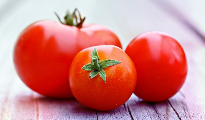 A cup of tomatoes: 1.2 mcg, 3.6% of the DV