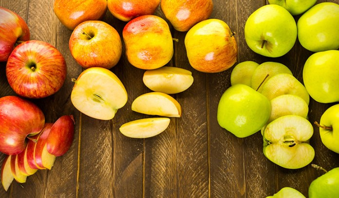 Apples are rich in magnesium.