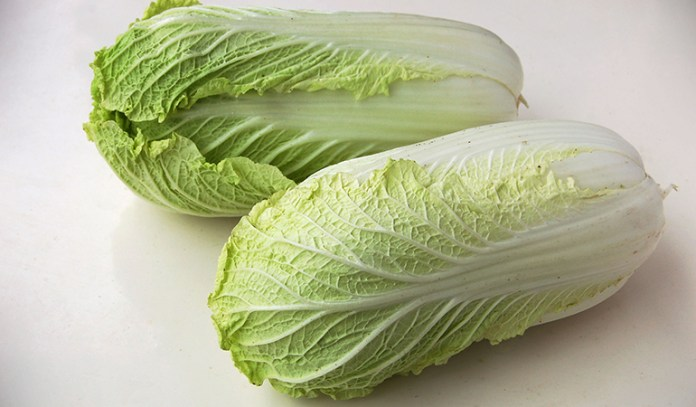1 cup Chinese cabbage, cooked: 158 mg of calcium (12.1% DV)