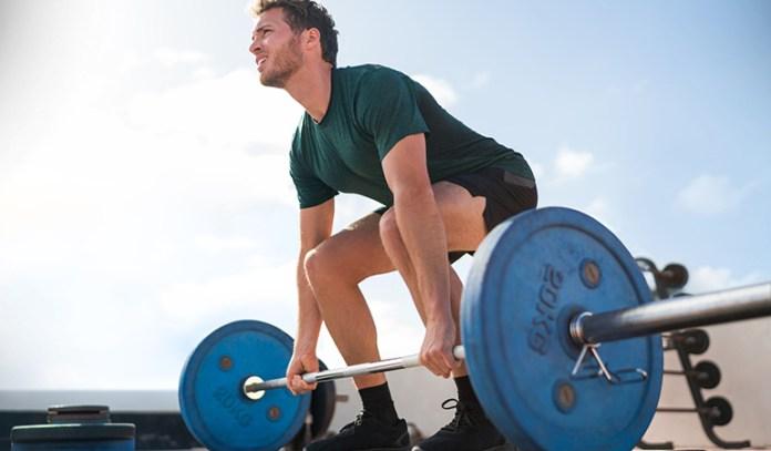 Deadlifts strengthen arm and leg muscles.