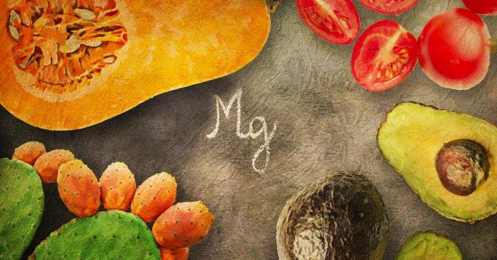 Magnesium-rich fruits.