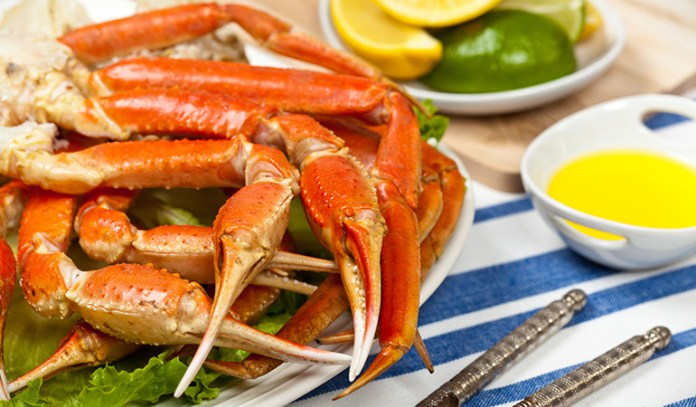 Alaska king crab has 6.5 mg of zinc per 3 oz once cooked, which gets you to 59% DV