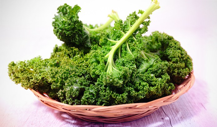 1 cup of kale: 30 mg of magnesium (7.1% DV)